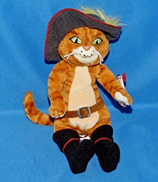Amazon.com: TY - Puss In Boots - Beanie Baby: Toys -amp; Games