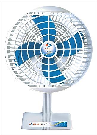 Bajaj Ultima PT01 48-Watt Table Fan (White)