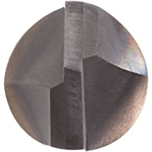 "Niagara Cutter CM290 Carbide Chamfering Mill, TiAlN Coated, 2 Flutes, 90 Degree Chamfer End, 1/4"" Cut Cutting Length, 1/2"" Diameter"