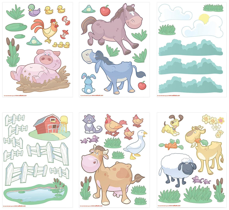 Wandtattoo – Wandtattoo Kinderzimmer – Baby Bauernhof online bestellen