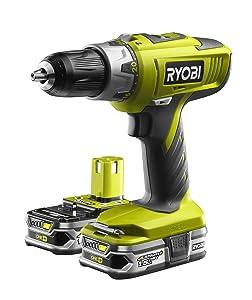 Ryobi 2Gang AkkuSchlagbohrschrauber LCDI18022, 5133001932  BaumarktÜberprüfung und Beschreibung