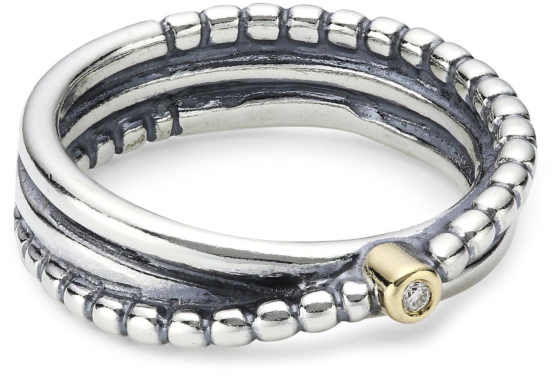 PANDORA Damen-Ring Sterling-Silber 925  19243D schenken