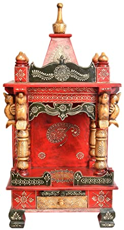 Templo con shikhra–madera