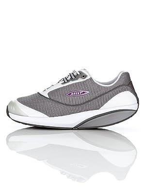 ASICS tg Lyte trainer Scarpe Donna tg ASICS 395 Pelle e Nylon Bianco da Camminata 051629