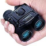 USCAMEL Binoculars for Kids, Compact Telescope High Power Binoculars 8x21 Large Eyepiece Waterproof Lightweight Binoculars for Adults Bird Watching, Hiking, Outdoor Hunting, Travelling, Safari (Tamaño: 8x)