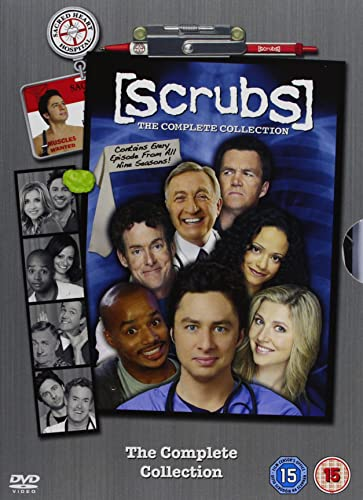 Scrubs DVD Box Set