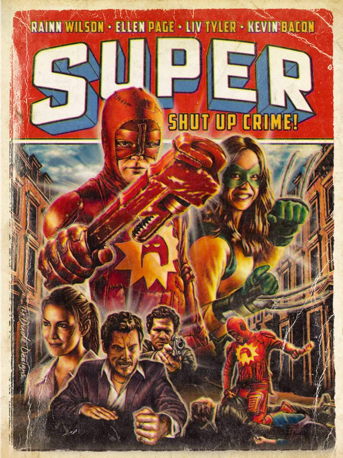 Super - Shut Up, Crime!