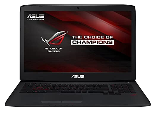 ASUS ROG G751JL FHD 17.3 Inch Laptop Intel Core i7, 16 GB, 1TB HDD, Black with  NVIDIA GTX965M - Free Upgrade to Windows 10