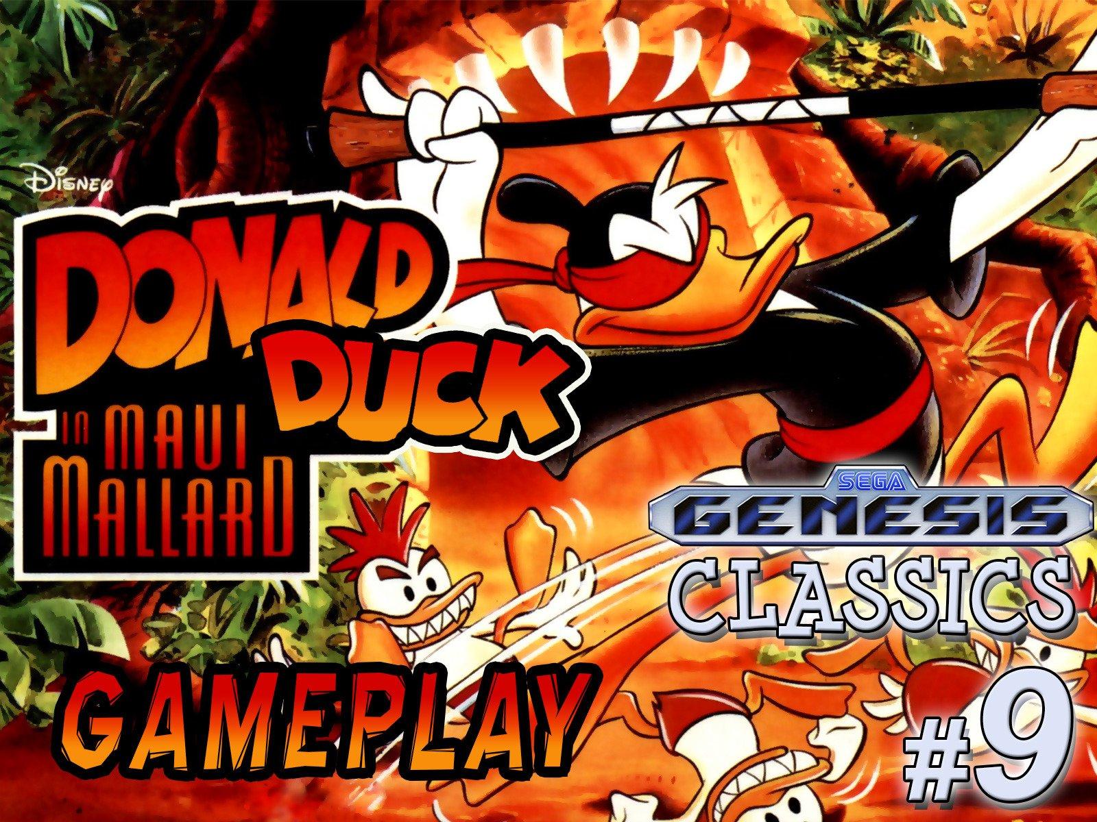 Clip: Donald Duck in Maui Mallard Gameplay (Genesis Classics 9) - Season 1