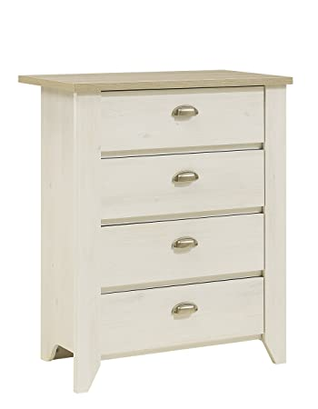 GAMI ELLEN Tall Chest of Drawers with Foiled Particle Board