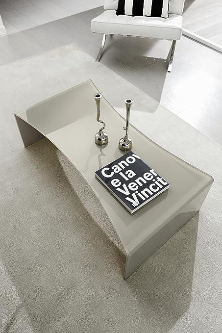 Table Basse Design Carving En Verre Tremp Deco