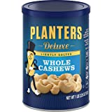 Planters Deluxe Whole Cashews, Lightly Salted, 1 lb 2.25 oz Canister