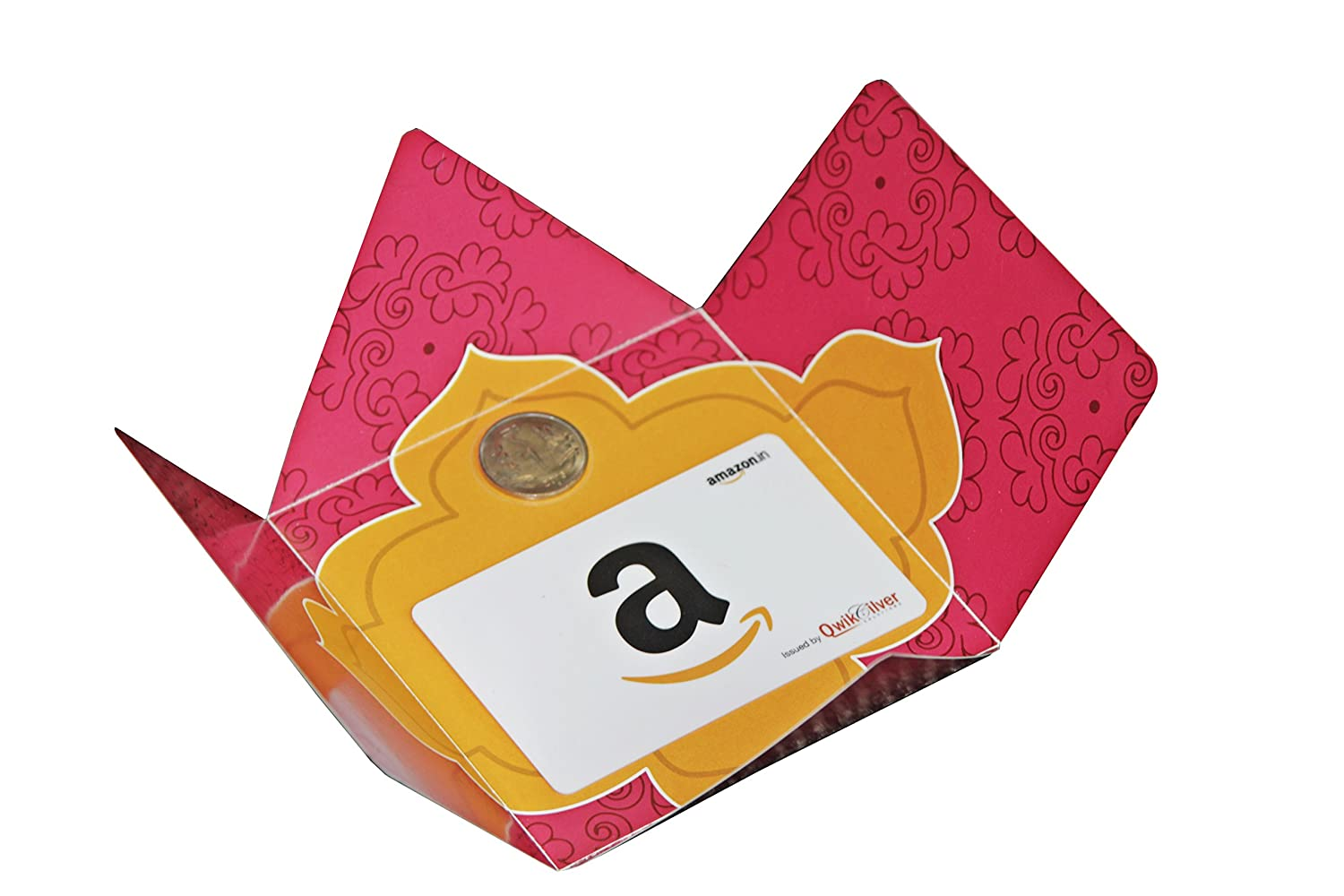 Amazon.in Gift Card in Festive Bloom Gift Box Pink