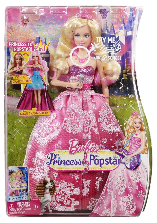 X Barbie Princess Popstar Transforming dp BRMCO