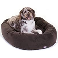 Majestic Pet Suede Bagel Extra Large Dog Bed