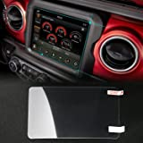JeCar 8.4 inch Screen Protector Film Media Center Navigation Touch for 2018 Jeep Wrangler JL & 2018 Grand Commander