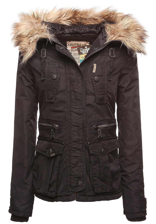 Khujo NEVE Damen Jacke Herbst Winter schwarz online kaufen