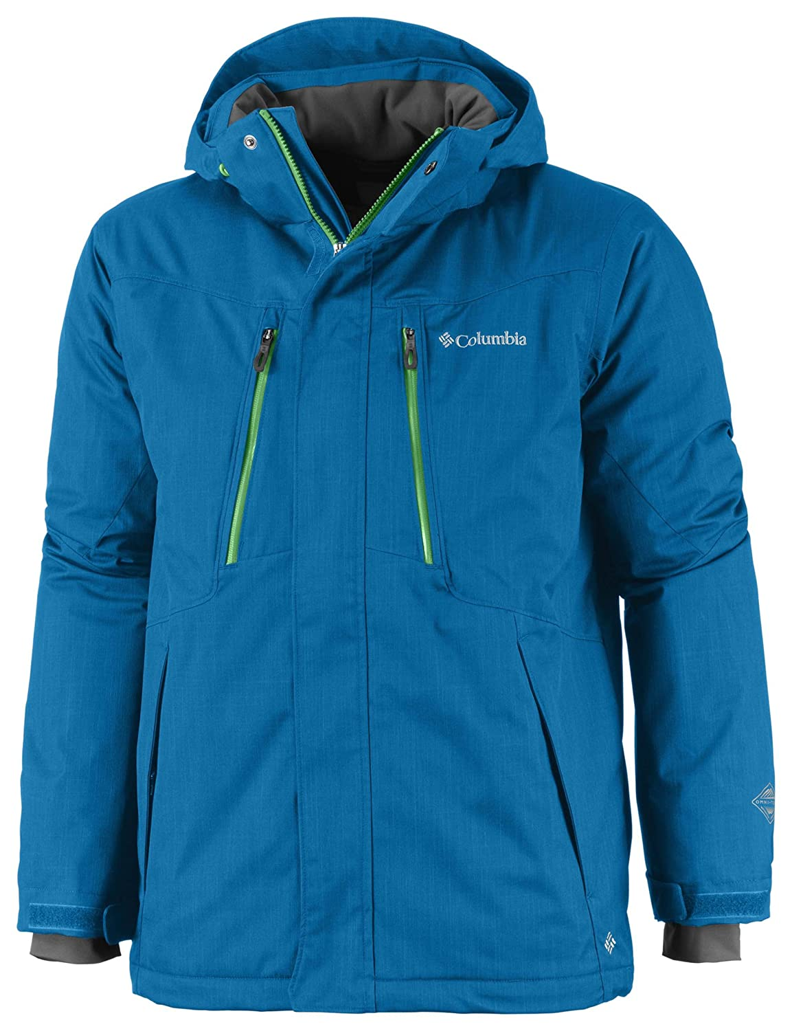 Columbia Men's Alpine Action Jungen Jacke S Blau - Compass Blue Melange