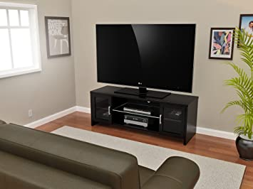 Z-Line Designs Callie TV Stand, 55-Inch, Black