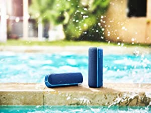 Sony SRS-XB22 Extra Bass Portable Bluetooth Speaker, Blue (SRSXB22/L) (Renewed) (Color: Blue)