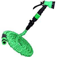 Pampered Gardens Deluxe Expandable No Kink Garden Hose Pipe