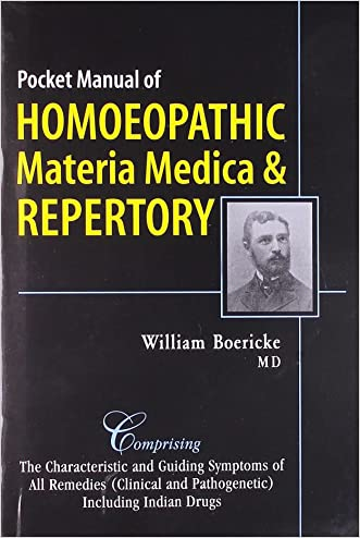 Pocket Manual of Homoeopathic Materia Medica & Repertory: Comprising of the Characteristic and Guiding Symptoms of All Remedies Clinical and Pathogenetic Including Indean Drug