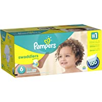 Pampers Swaddlers Diapers Size 6 (100 Count)