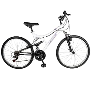 Mantis Women 26 Orchid Full Suspension Bicycle