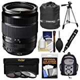 Fujifilm 18-135mm f/3.5-5.6 XF R LM OIS WR Zoom Lens with Backpack + Tripod + 3 Filters + Kit for X-A2, X-E2, X-E2s, X-M1, X-T1, X-T10, X-Pro2 Cameras (Color: Black)