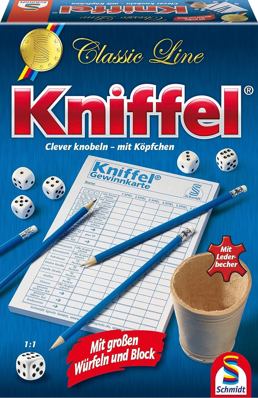 Schmidt Spiele 49203 Classic Line: Kniffel mit gr. Würfeln & Block online bestellen