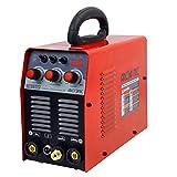 HeroCut TIG160P Dual Voltage 110/220V Pulse HF Inverter TIG/MMA Welding Machine with Stick/MMA Arc Welder, HF Pulse (Color: TIG165DP)