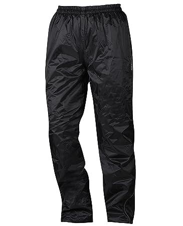 NERVE 1512070404_02 Nebraska Thermo Pantalon de Pluie, Noir, Taille : S
