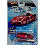 Hot Wheels Speed Machines Enzo Ferrari RED 1:64 Scale (Color: Red, Tamaño: 1:64 Scale ~ 3