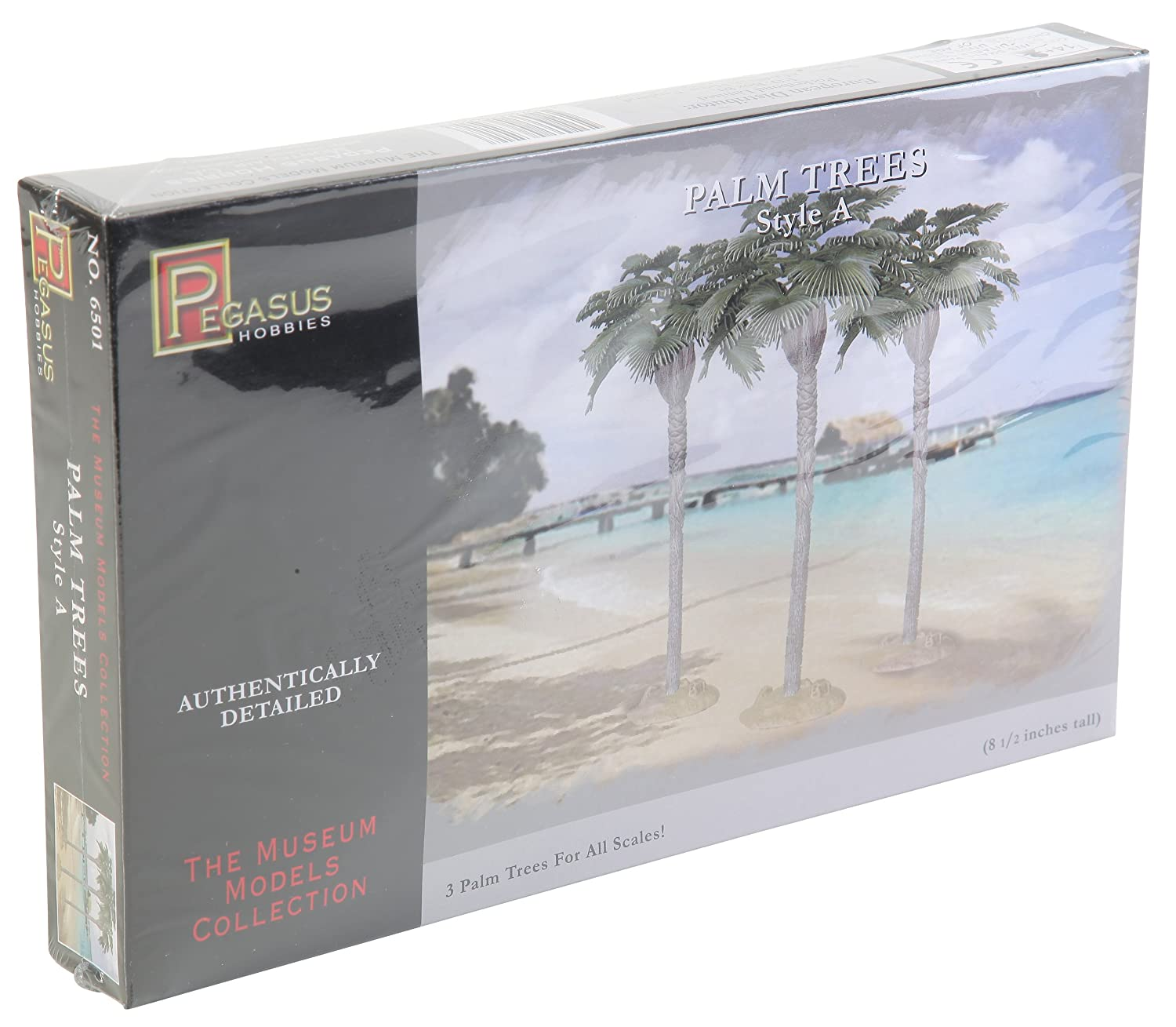Pegasus Hobbies Fan Leaf Palm Trees 8-1/2 (3) PGH6501 aeroclassics a330 200 vh eba 1 400 jetstar commercial jetliners plane model hobby