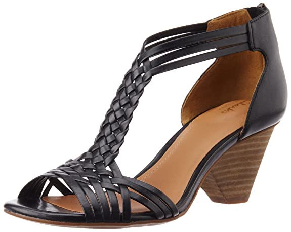 Clarks Women's Ranae Monique Leather Fashion Sandals at amazon