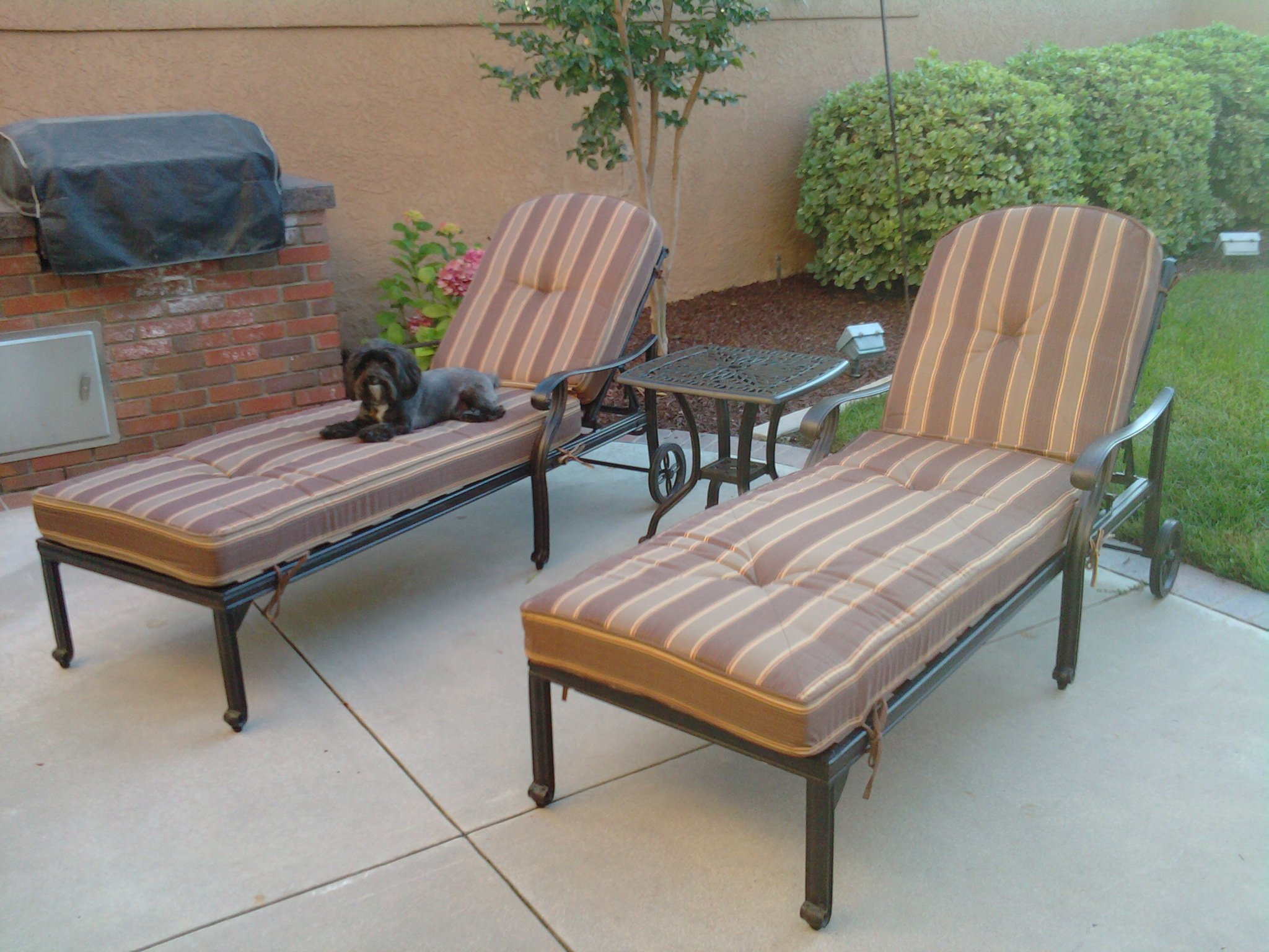 Heritage Outdoor Living Flamingo Cast Aluminum 3pc Outdoor
