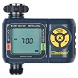 Melnor AquaTimer 1-Zone Automatic Water Timer (Color: Basic, Tamaño: 1-Zone)