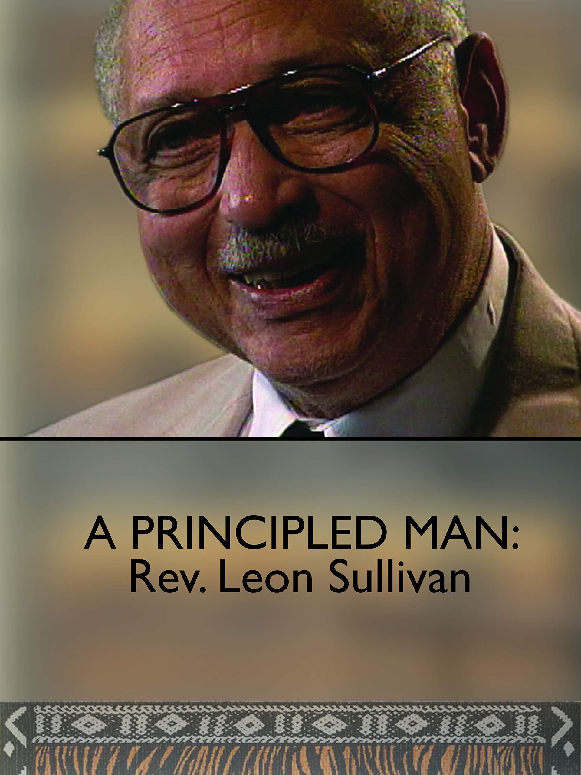 A Principled Man: Rev. Leon Sullivan on Amazon Prime Video UK