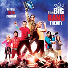 The Big Bang Theory Calendar 2014