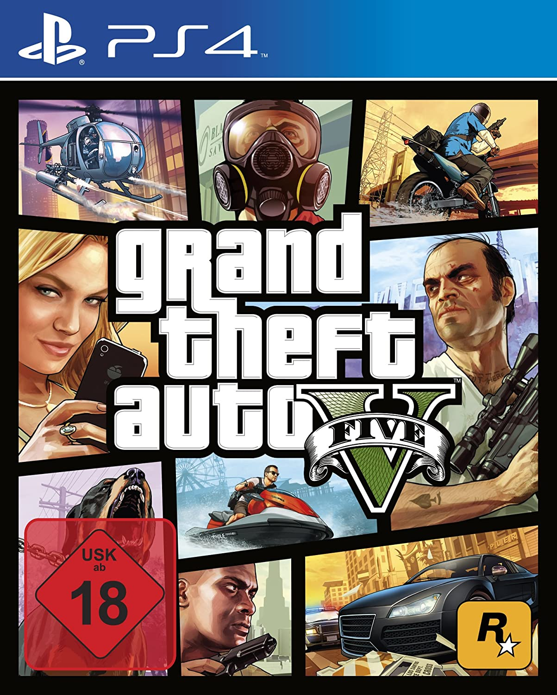GTA V PS4 Grand Theft Auto