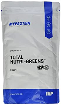 Myprotein Total Nutri Greens Unflavoured, 1er Pack (1 x 660 g)
