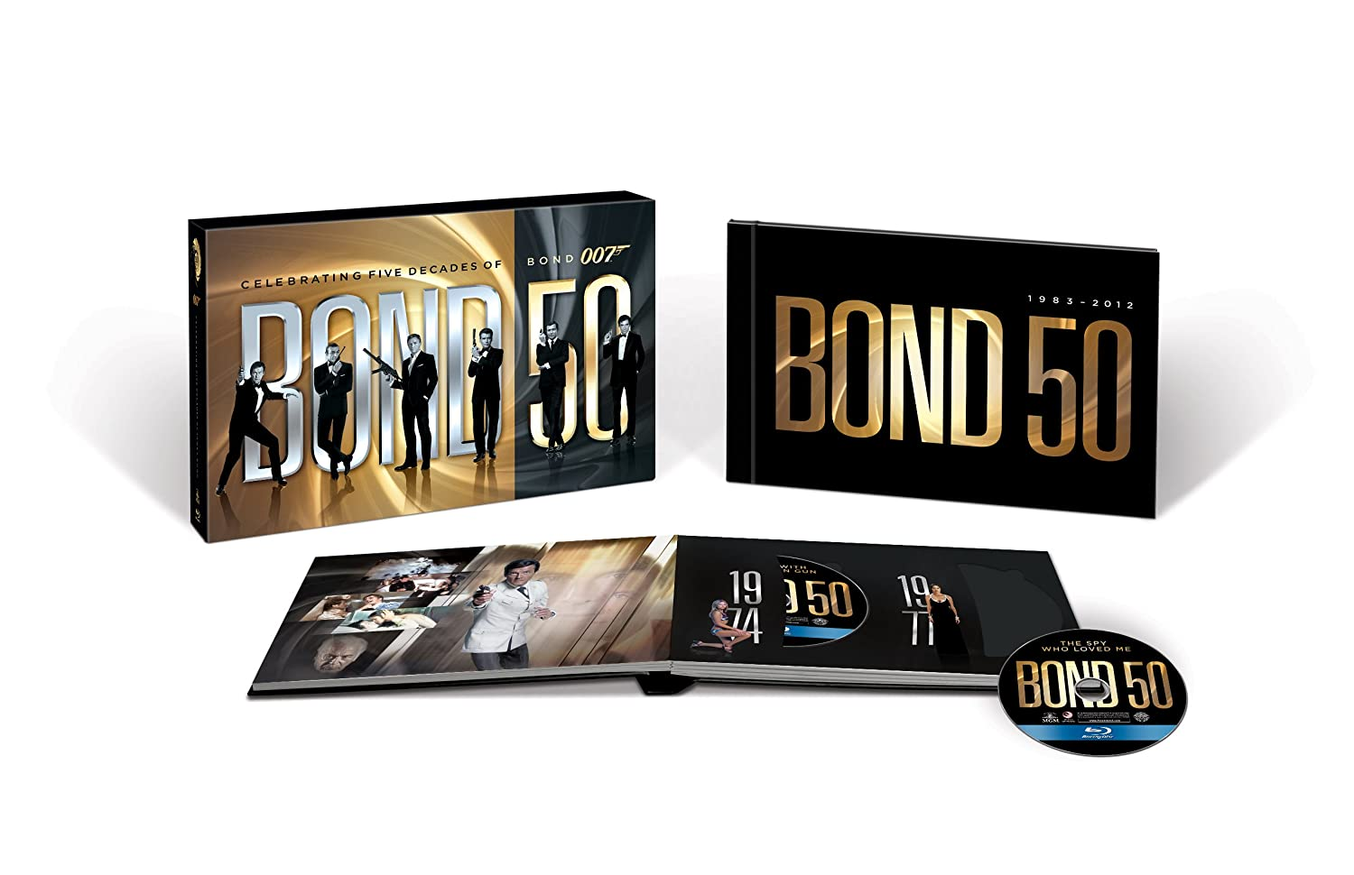 Bond 50: The Complete 22 Film Collection $118.99