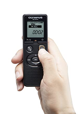 Olympus VN-541PC With PC Link 4GB Black Digital Voice Recorder (Color: Black)
