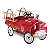 InStep Fire Truck Pedal Car (Color: Red)