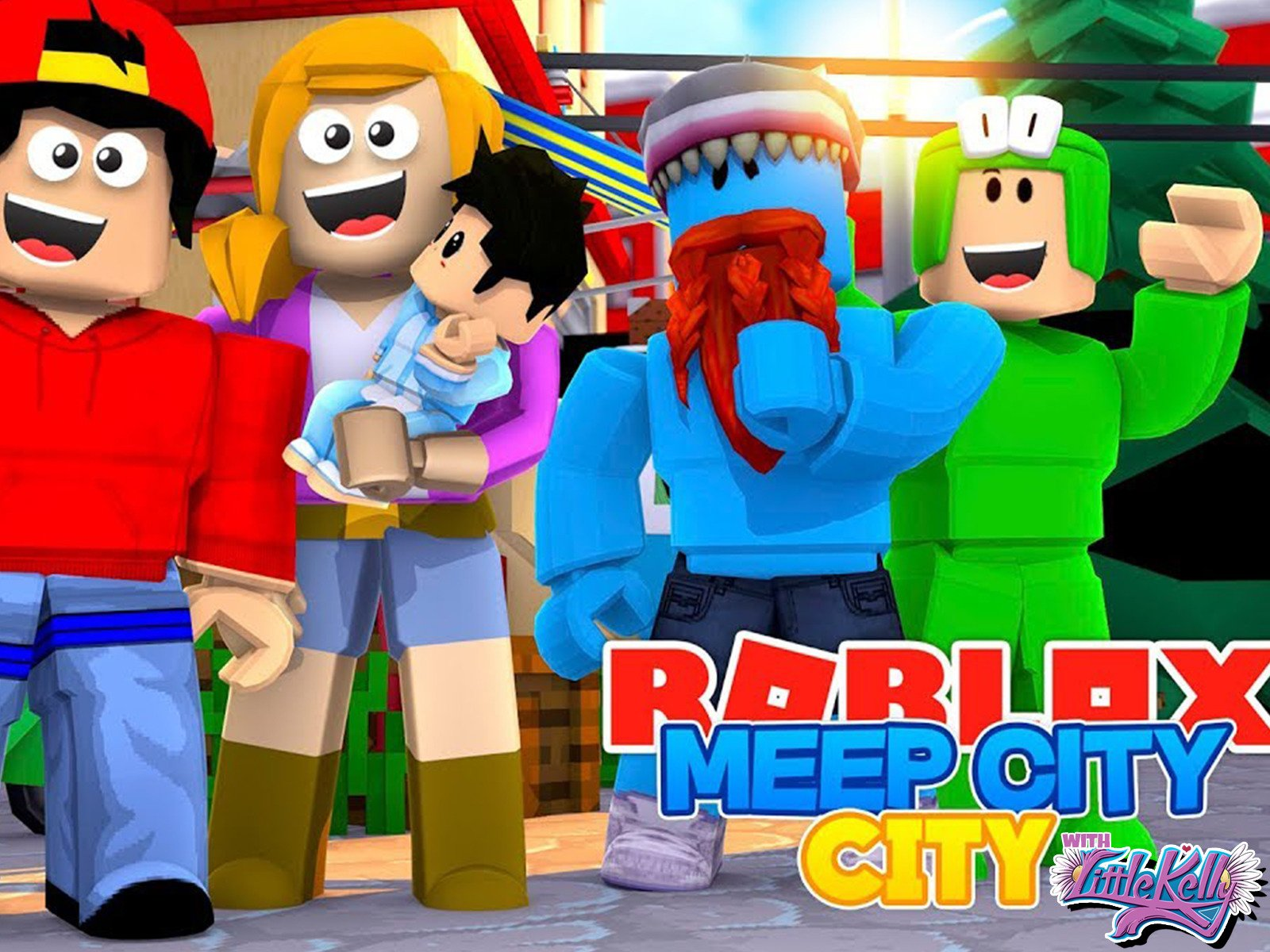 Clip: Roblox Meepcity City with Little Kelly - Season 1