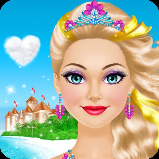 Tropical Princess Salon: Spa, Makeup and Dress Up Makeover – girly girl games
