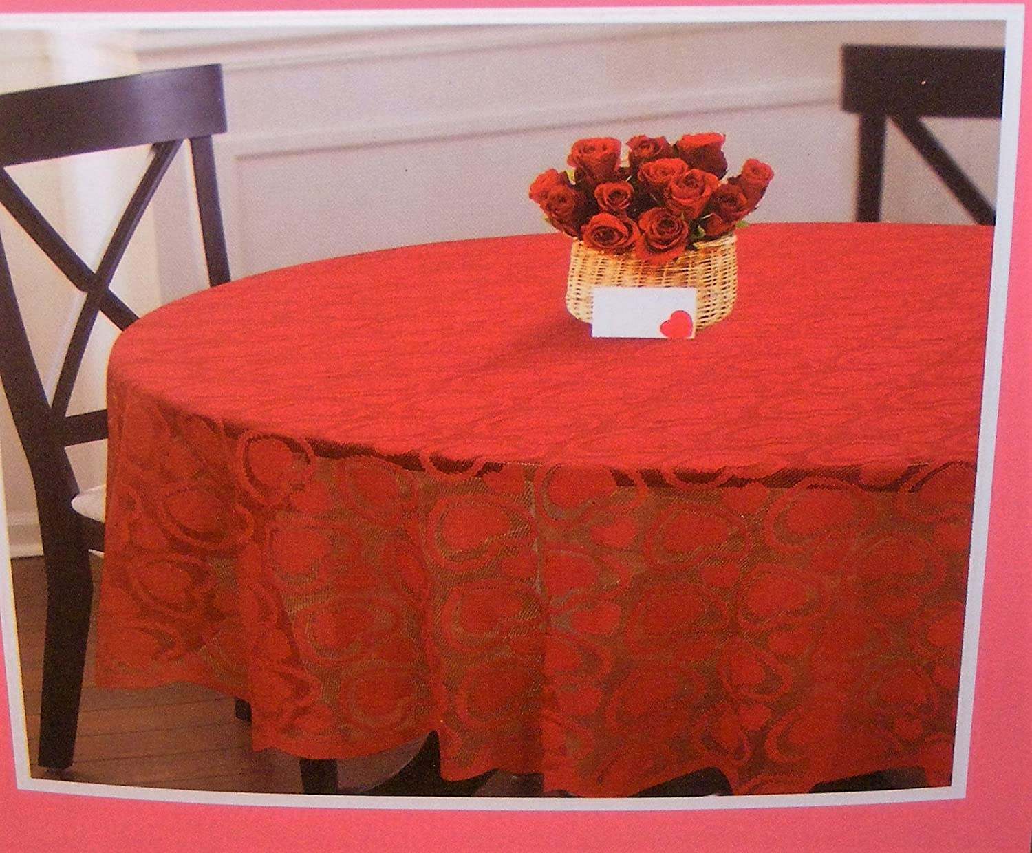Valentines Day Fabric Tablecloths