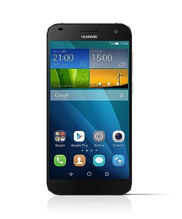 Huawei Ascend G7 Smartphone débloqué 4G (Ecran : 5,5 pouces - 16 Go - Simple SIM - Android 4.4 KitKat) Gris