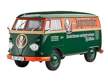 Revell Model Set - 67076 - Maquette - Combi VW T1 - vert - Échelle 1/24 - 124 pièces