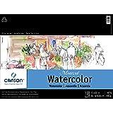 Montval Watcol 15X20 12Sht 140lb Tape (Color: Multicolor, Tamaño: 15